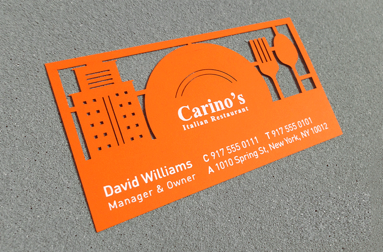 Clever cut outs can also be used individually