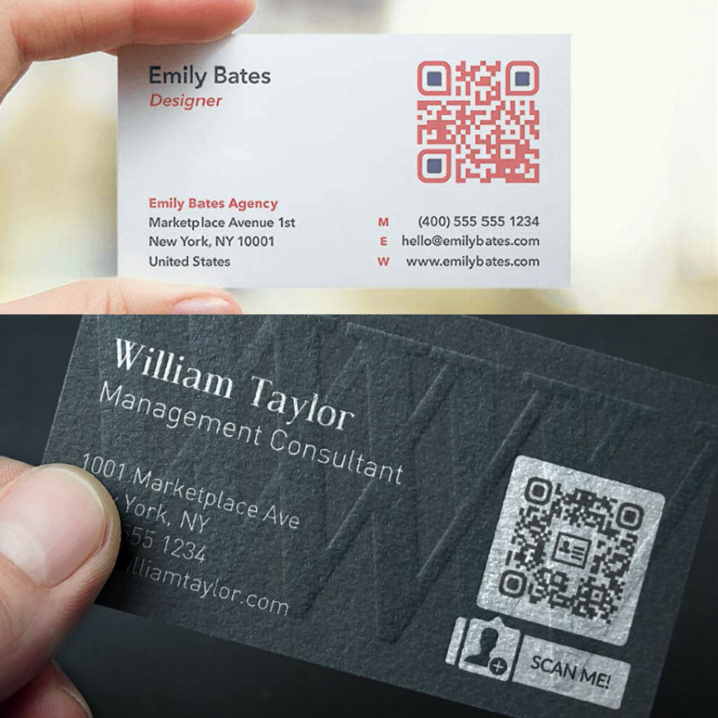 Qr Codes In cards